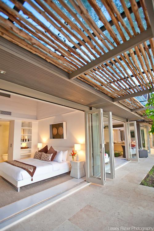 Bedroom at The Headland Villa 3, Ban Taling Ngam, Koh Samui, Thailand