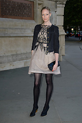 Jade Parfitt attends 'Wedding Dresses 1775 - 2014' - VIP private view. Victoria & Albert Museum, London, United Kingdom. Wednesday, 30th April 2014. Picture by Chris Joseph / i-Images