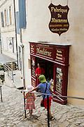 """FRANCE, Saint Emilion<br /> A pastry shop selling Saint Emilion's famous """"macarons"""""""