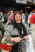 Mildrid Stamnes, f¿dt Garberg, bor i Trondheim pŒ Selbumartnan. Strikker for Husfliden.