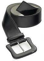 a Limited Express black belt on white