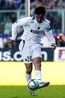 Firenze 07-11-2004<br /> Campionato  Serie A Tim 2004-2005<br /> Fiorentina Inter<br /> nella  foto Alvaro Recoba<br /> Foto Snapshot / Graffiti