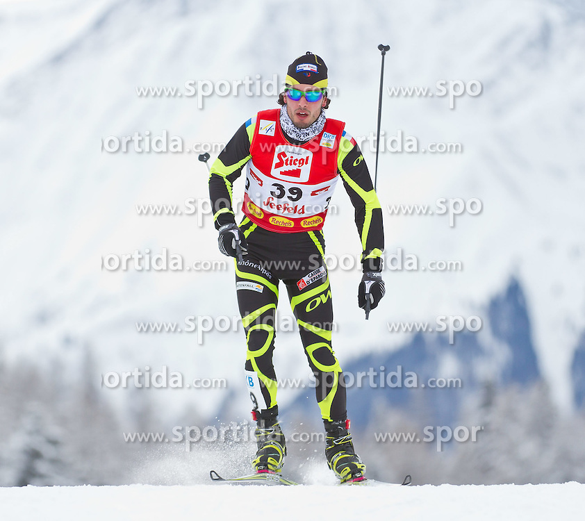 19.12.2011, Casino Arena, Seefeld, AUT, FIS Nordische Kombination, Langauf 10 km, im Bild Wilfreid Galiieau (FRA) // Wilfreid Galiieau of France during the cross-country skiing 10 km at FIS Nordic Combined World Cup in Sefeld, Austria on 20111211. EXPA Pictures © 2011, PhotoCredit: EXPA/ P.Rinderer