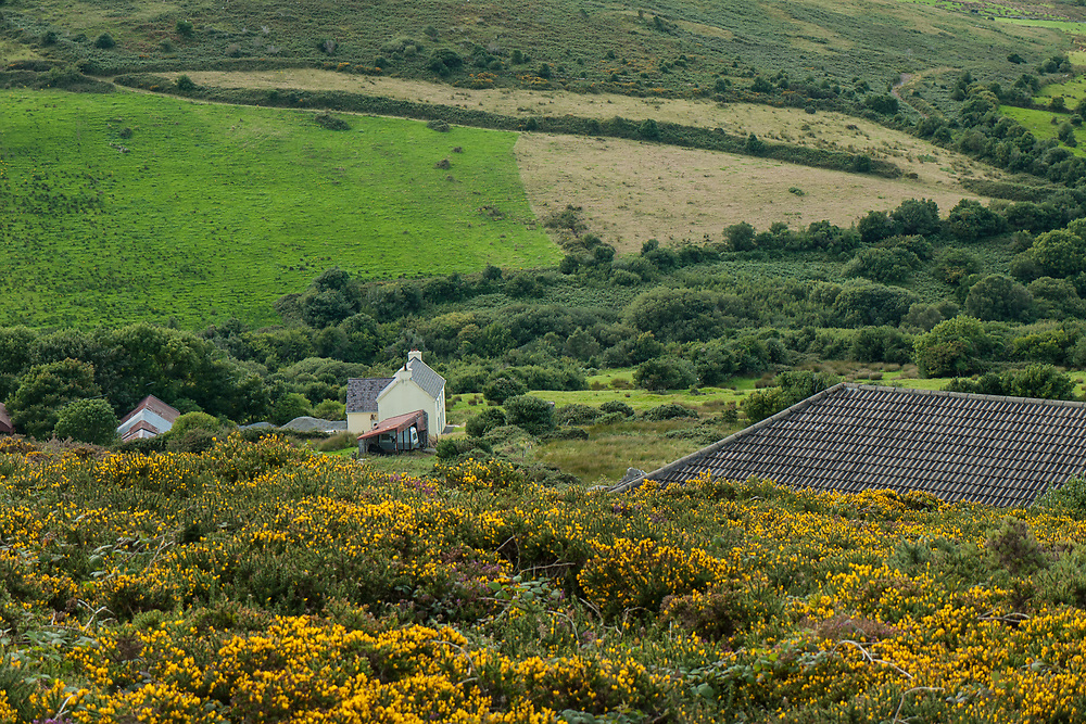 Farm house on the Dingle Peninsula