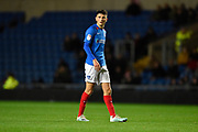 Leon Maloney (29) of Portsmouth during the Leasing.com EFL Trophy match between Oxford United and Portsmouth at the Kassam Stadium, Oxford, England on 8 October 2019.