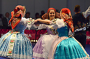 Czech folk dancing