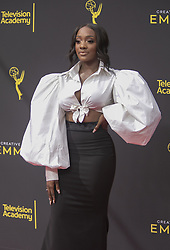 September 14, 2019, Los Angeles, California, United States of America: Faith Rodgers at the red carpet of the 2019 Creative Arts Emmy Awards on Saturday September 14, 2019 at the Microsoft Theater in Los Angeles, California. JAVIER ROJAS/PI (Credit Image: © Prensa Internacional via ZUMA Wire)