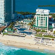 Sandos Cancun hotel. Cancun, Quintana Roo. Mexico.