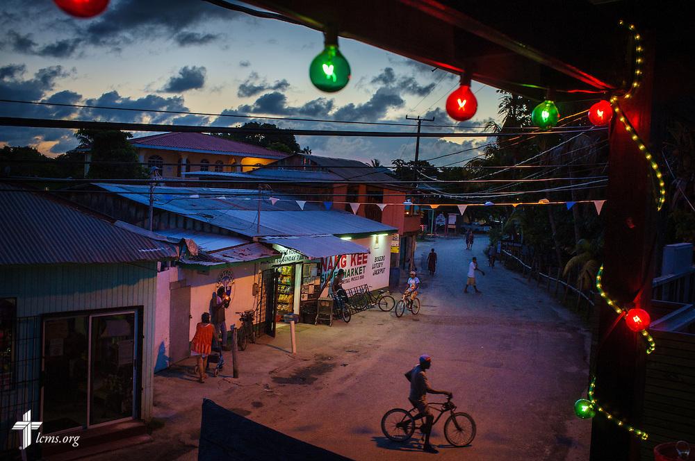 Nightlife on Wednesday, Sept. 28, 2016, in Placencia, Belize. Erik M. Lunsford