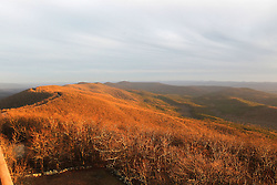 Sunsets from Rich Mountain located in Western Arkansas.
