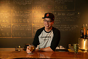06/25/2019 Sacramento, CA: LeRoid David poses for a portrait inside Claimstake Brewing Co., a family owned craft beer place in Rancho Cordova, CA on June 25, 2019. LeRoid David, who recently moved to Sacramento from the Bay Area due to rising rents, works as a beertender at Claimstake. <br /><br />photo by Salgu Wissmath for the Guardian