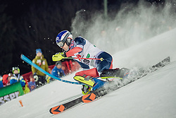 "29.01.2019, Planai, Schladming, AUT, FIS Weltcup Ski Alpin, Slalom, Herren, 1. Lauf, im Bild Dave Ryding (GBR) // Dave Ryding of United Kingdom in action during his 1st run of men's Slalom ""the Nightrace"" of FIS ski alpine world cup at the Planai in Schladming, Austria on 2019/01/29. EXPA Pictures © 2019, PhotoCredit: EXPA/ Dominik Angerer"
