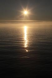 USA ALASKA ST PAUL ISLAND 8JUL12 - Sunset over the Bering Sea off the island of St. Paul in the Bering Sea, Alaska.....Photo by Jiri Rezac / Greenpeace....© Jiri Rezac / Greenpeace