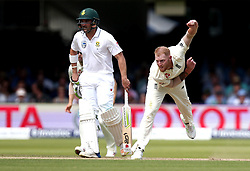 Ben Stokes of England bowls at South Africa - Mandatory by-line: Robbie Stephenson/JMP - 07/07/2017 - CRICKET - Lords - London, United Kingdom - England v South Africa - Investec Test Series