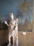 Italy, Rome, The Vatican Museum Statue of Anubis