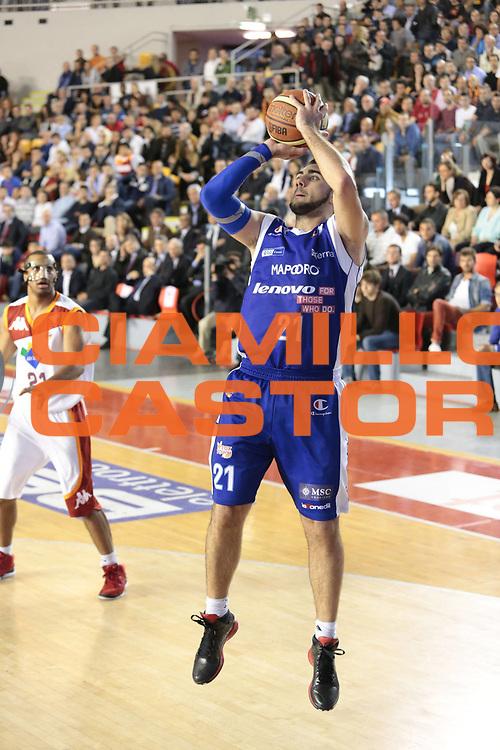 DESCRIZIONE : Roma Lega A 2012-2013 Acea Roma Lenovo Cantu playoff semifinale gara 1<br /> GIOCATORE : Pietro Aradori<br /> CATEGORIA : tiro<br /> SQUADRA : Lenovo Cantu<br /> EVENTO : Campionato Lega A 2012-2013 playoff semifinale gara 1<br /> GARA : Acea Roma Lenovo Cantu<br /> DATA : 24/05/2013<br /> SPORT : Pallacanestro <br /> AUTORE : Agenzia Ciamillo-Castoria/M.Simoni<br /> Galleria : Lega Basket A 2012-2013  <br /> Fotonotizia : Roma Lega A 2012-2013 Acea Roma Lenovo Cantu playoff semifinale gara 1<br /> Predefinita :