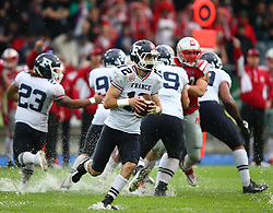 04.06.2014, UPC Arena, Graz, AUT, American Football Europameisterschaft 2014, Gruppe B, Frankreich (FRA) vs Oesterreich (AUT), im Bild Paul  Durand , (Team France, WR , #12) // during the American Football European Championship 2014 group B game between France vs Austria at the UPC Arena, Graz, Austria on 2014/06/04. EXPA Pictures © 2014, PhotoCredit: EXPA/ Thomas Haumer