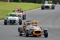 #45 Paul Mortimer Caterham Tracksport during the Avon Tyres Caterham Tracksport Championship at Oulton Park, Little Budworth, Cheshire, United Kingdom. August 13 2016. World Copyright Peter Taylor/PSP.