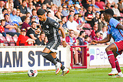 Ayoze Perez of Leicester City (17) in action during the Pre-Season Friendly match between Scunthorpe United and Leicester City at Glanford Park, Scunthorpe, England on 16 July 2019.