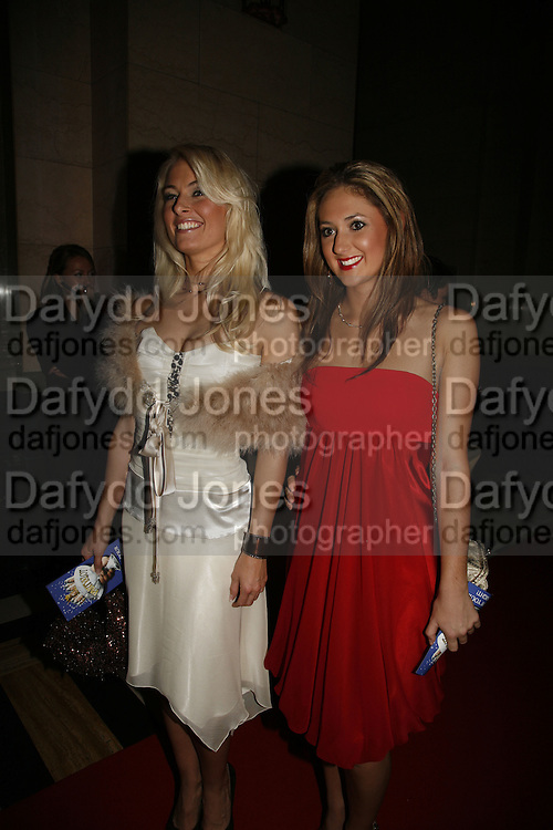 Krystal Archer and Selina Hamilton, Opening of Spamalot at the Night Palace Theatre and afterwards at Freemasons Hall Gt. Queen St.  London. 17 October 2006. -DO NOT ARCHIVE-© Copyright Photograph by Dafydd Jones 66 Stockwell Park Rd. London SW9 0DA Tel 020 7733 0108 www.dafjones.com