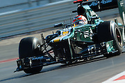 Nov 15-18, 2012: Heikki KOVALAINEN (FIN) CATERHAM F1 TEAM.© Jamey Price/XPB.cc