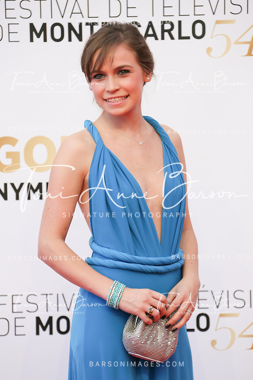 MONTE-CARLO, MONACO - JUNE 11:  Arianna Jacchia attends the Closing Ceremony and Golden Nymph Awards of the 54th Monte Carlo TV Festival on June 11, 2014 in Monte-Carlo, Monaco.  (Photo by Tony Barson/FilmMagic)