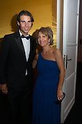 RAFA NADAL; MARTA GOMEZ MARTIN, Vanity Fair Person of the year. Italian Consulate. Madrid. 17 September 2012.