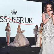 CEO Julia Titova annonce the 1st Miss USSR UK 2019 of the Grand Final MISS USSR UK 2019 at Hilton Hotel Park Lane on 27 April 2019, London, UK.