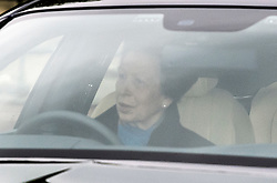 © Licensed to London News Pictures. 04/05/2017. London, UK. PRINCESS ANNE arrives at Buckingham Palace, the home of Queen Elizabeth II, where an emergency meeting of staff has reportedly been called. An announcement by the Palace is is expected this morning.  Photo credit: Ben Cawthra/LNP