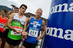 Jan Samide and Mitja Krevs competes during 3. Konjiski maraton / 3rd Marathon of Slovenske Konjice, on September 27, 2015 in Slovenske Konjice, Slovenia. Photo by Urban Urbanc / Sportida