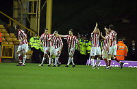 Photo: Rich Eaton.<br /> <br /> Wolverhampton Wanderers v Sunderland. Coca Cola Championship. 24/11/2006. Stephen Elliott partially hidden 3rd from left celebrateswith teamates his equalising goal