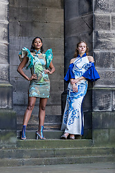 The graduates from the Shanghai International College of Fashion and Innovation (SCF) have taken classic Chinese silhouettes, fabrics and colour and given them a modern twist. The fashion showcase – From Shanghai with Love – is a collaboration between Donghua University and the Confucius Institute for Scotland in the University of Edinburgh. The shows take place on 23 and 24 August as part of the Festival Fringe.