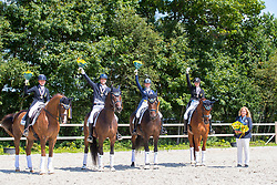 Team Sweden<br /> Young Riders<br /> European Championships Dressage <br /> Roosendaal 2017<br /> © Hippo Foto - Leanjo de Koster<br /> 11/08/17