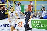 CAGLIARI 21 AGOSTO 2011<br /> CAMPIONATI EUROPEI U 16<br /> FINALE 3-4 POSTO ITALIA TURCHIA<br /> NELLA FOTO NANI<br /> FOTO CIAMILLO