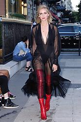 Chiara Ferragni attending the Fendi 2017/18 Fall Winter Haute Couture show in Paris, France on July 05, 2017. Photo by Aurore Marechal/ABACAPRESS.COM  | 599056_010 Paris France