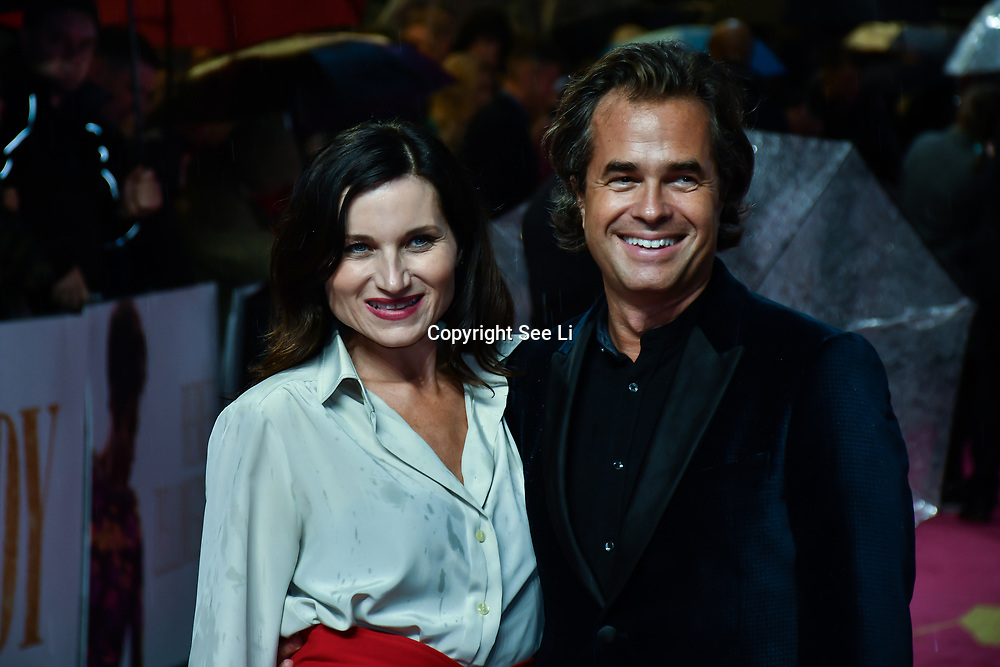 Kate Fleetwood and Rupert Goold arrivers at the Judy - London premiere at Curzon Mayfair, 38 Curzon Street, on 30 September 2019, London, United Kingdom