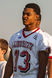 "16 August 2004    Wide Receiver Ramon Barber   ""Meet the Redbirds"" evening at Illinois State University, Normal IL"