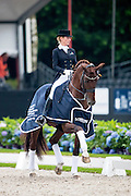 Isabel Freese - Vitalis<br /> Longines FEI/WBFSH World Breeding Dressage Championships for Young Horses 2016<br /> © DigiShots