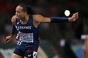 Pascal Martinot-Lagarde competes and wins the gold medal in 110m hurdles during the European Championships 2018, at Olympic Stadium in Berlin, Germany, Day 4, on August 10, 2018 - Photo Philippe Millereau / KMSP / ProSportsImages / DPPI