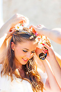 Bride, Wreath, Flower, Celebration, Preparation