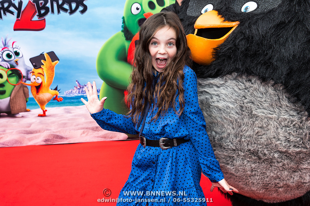 NLD/Amsterdam/20190814 - Premiere Angry Birds 2, Bibi Toby