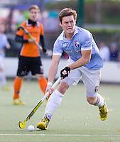 EINDHOVEN - hockey - Tom Boon van Bl'daal tijdens de hoofdklasse hockeywedstrijd tussen de mannen van Oranje-Zwart en Bloemendaal (3-3). COPYRIGHT KOEN SUYK