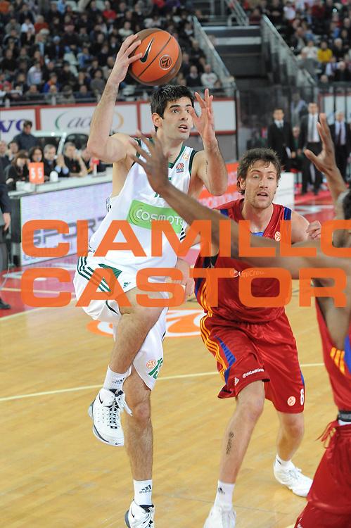 DESCRIZIONE : Roma Eurolega 2008-09 Lottomatica Virtus Roma Panathinaikos Atene<br /> GIOCATORE : Dusan Sakota<br /> SQUADRA : Panathinaikos Atene<br /> EVENTO : Eurolega 2008-2009<br /> GARA : Lottomatica Virtus Roma Panathinaikos Atene<br /> DATA : 26/02/2009<br /> CATEGORIA : Tiro<br /> SPORT : Pallacanestro<br /> AUTORE : Agenzia Ciamillo-Castoria/G.Ciamillo