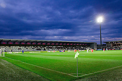 Stadium Bonifika during football match between U21 National Teams of Slovenia and Russia in 6th Round of U21 Euro 2015 Qualifications on November 15, 2013 in Stadium Bonifika, Koper, Slovenia. Russia defeated Slovenia 1-0. Photo by Vid Ponikvar / Sportida