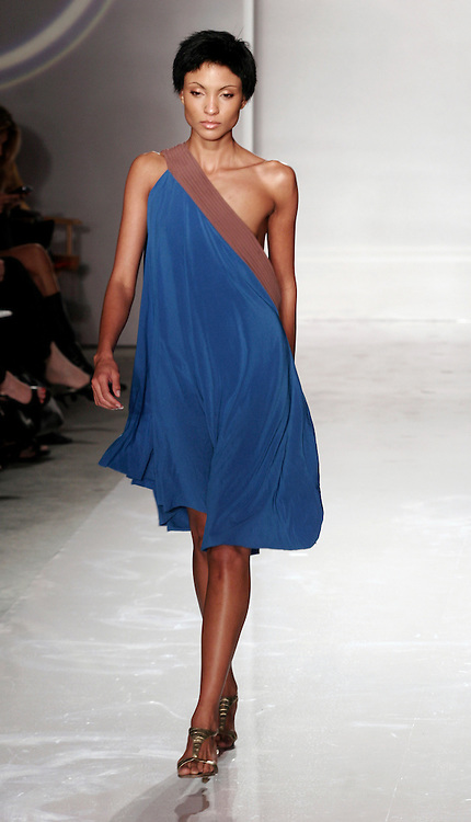 Model wears Rakiyt Zahari at Funkshion Fashion Week Fall/Winter 2007