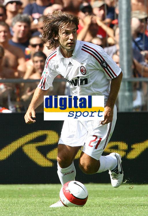 Fotball<br /> Italia<br /> Foto: Inside/Digitalsport<br /> NORWAY ONLY<br /> <br /> 26.08.2007<br /> Genoa v Milan 0-3<br /> <br /> Andrea Pirlo (Milan)