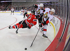 February 18, 2013: Ottawa Senators at New Jersey Devils