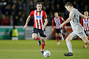 Tom Hopper of Lincoln City during the EFL Sky Bet League 1 match between Lincoln City and Portsmouth at Sincil Bank, Lincoln, United Kingdom on 28 January 2020.