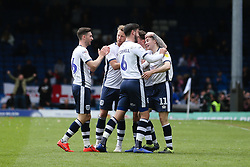 Jordan Rossiter of Bury celebrates after equalising - Mandatory by-line: JMP - 04/05/2019 - FOOTBALL - Gigg Lane - Bury, England - Bury v Port Vale - Sky Bet League Two