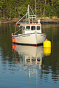 Fishing boat in Blacks Harbour<br /> Blacks Harbour<br /> New Brunswick<br /> Canada